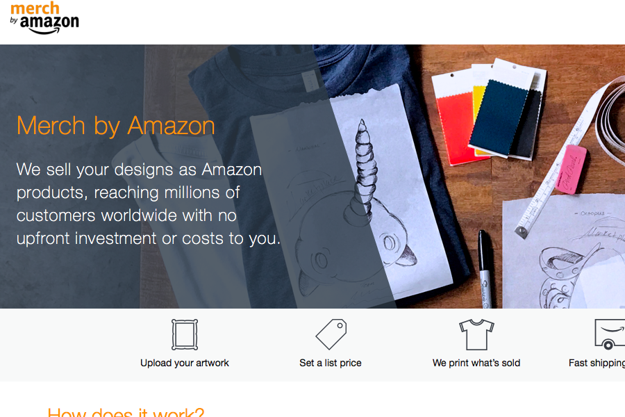 Merch by Amazon launches in UK and Germany