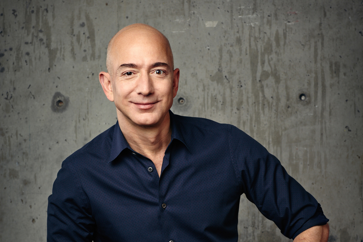 Jeff Bezos considers himself as the least important person at Amazon